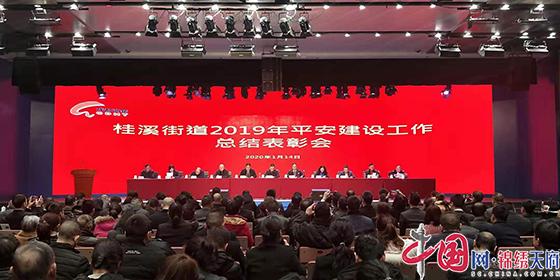 成都高新区桂溪街道召开2019年度平安建设工作总结表彰会