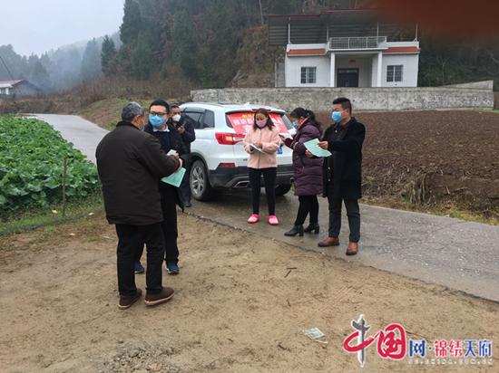 射洪市天仙镇:干群同心协力 坚决打赢疫情防控攻坚战