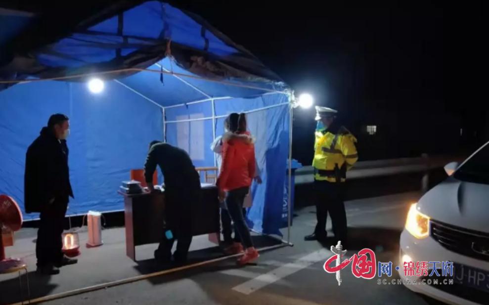 蓬溪县天福镇:干部、群众齐心协力抗击疫情