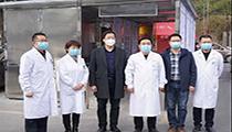 红外成像体温检测系统在四川省科学城医院投用