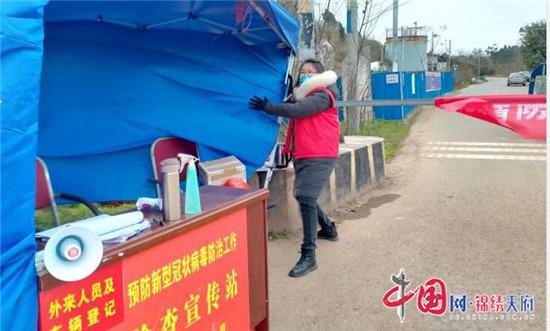 船山区龙凤镇:战疫一线的那些巾帼身影