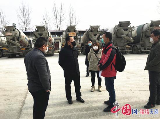 遂宁国家农业科技园区管委会主任瞿祥检查督导企业复工复产