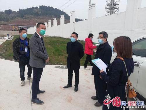 遂宁市生态环境局检查大英县疫情期间污水处理厂运行情况