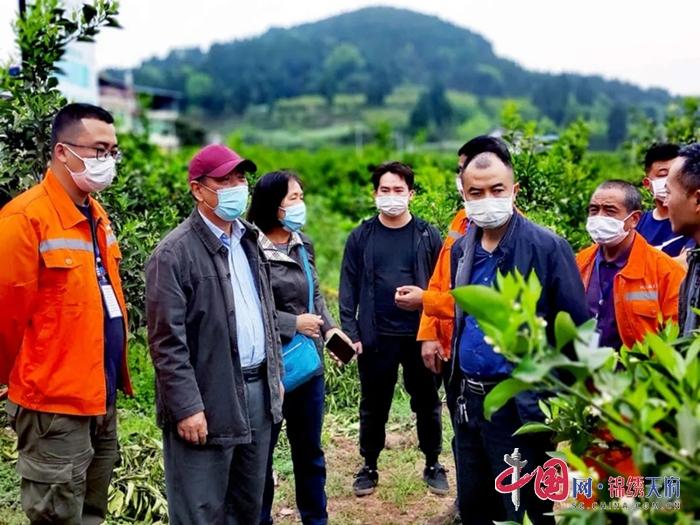 四川省农业科学院研究员刘建军到射洪市开展院地科技合作考察活动