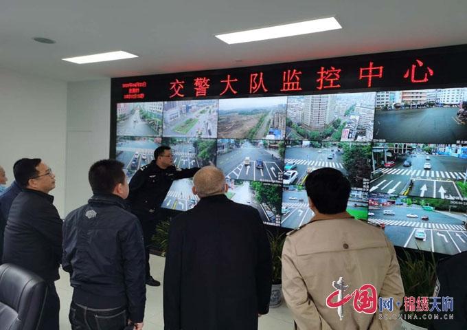 蓬溪县公安局交警大队召开全县智能交通系统验收会