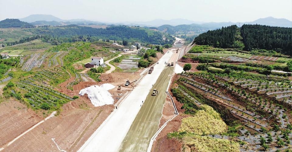 南充市100件大事基础设施类项目