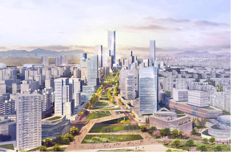 Chengdu East New Area established to lead the new development of Chengdu