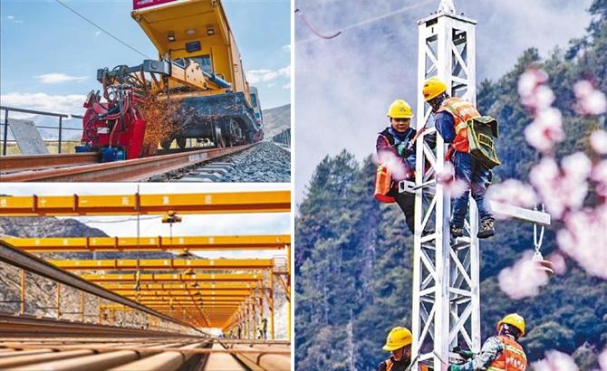 央媒看四川 川藏铁路项目稳步推进 拉萨至林芝段47座隧道全部贯通