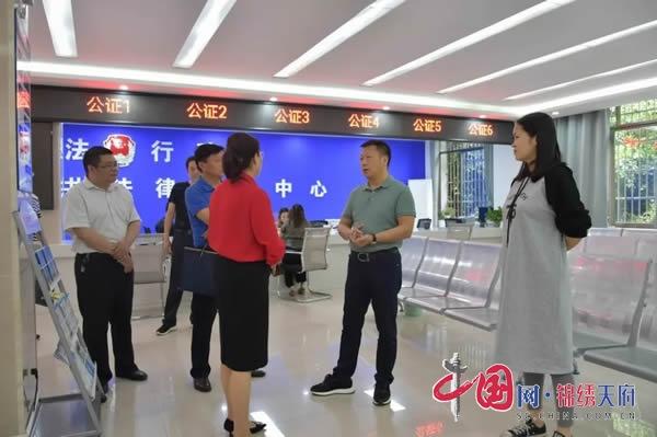 宜宾市司法局局长刘畅到江安调研 为司法行政加油鼓劲