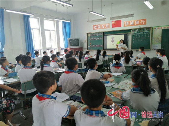 """绵阳江油市小学英语""""送教到校 助推校本研修""""活动走进三合小学"""