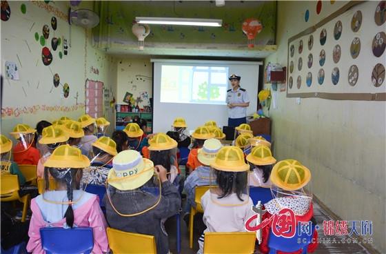 四川内江:消防安全知识普及走进幼儿园