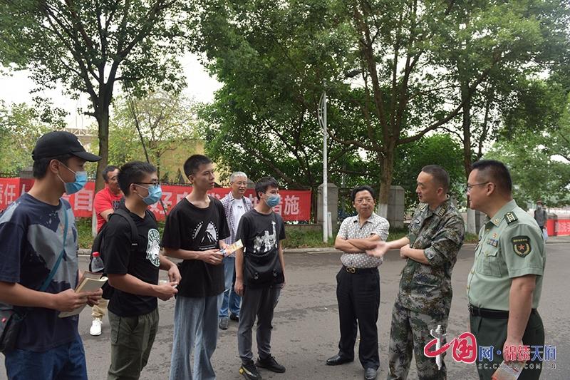 自贡自流井:聚力大学生征兵宣传 助力高质量兵员征集