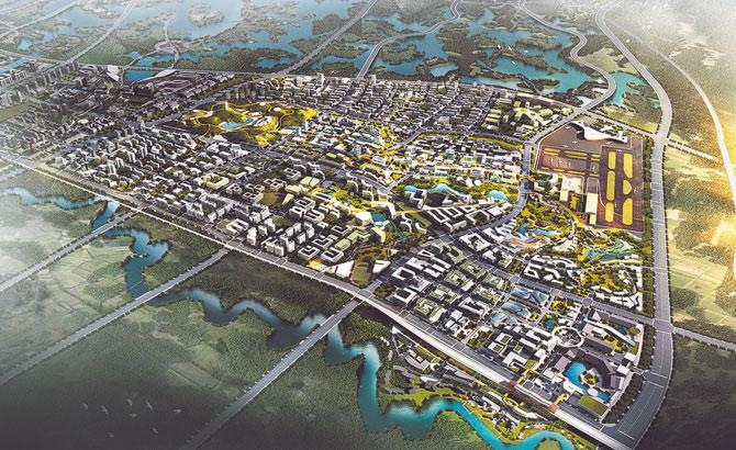 成都未来科技城全球征集起步区城市设计方案