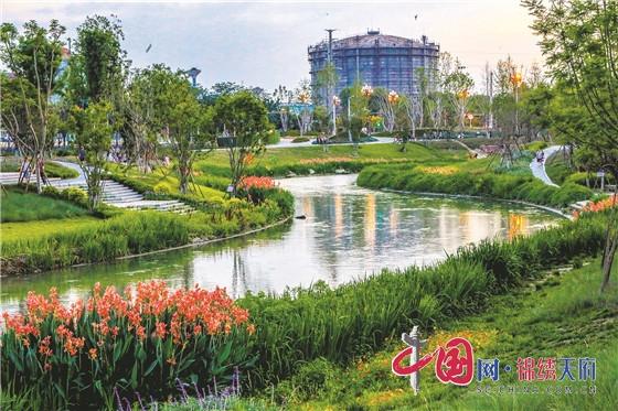 让绿色成为最鲜明底色 成都青白江加速公园城市建设