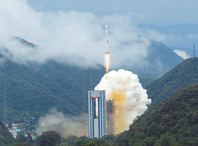 The last global networking satellite of BDS launched from Xichang