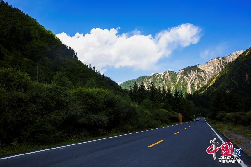 """九寨沟县:全域环境整治让绿水青山更""""靓"""""""