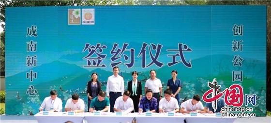 7个文旅项目落地 成都新津梨花溪文化旅游区吸金35亿