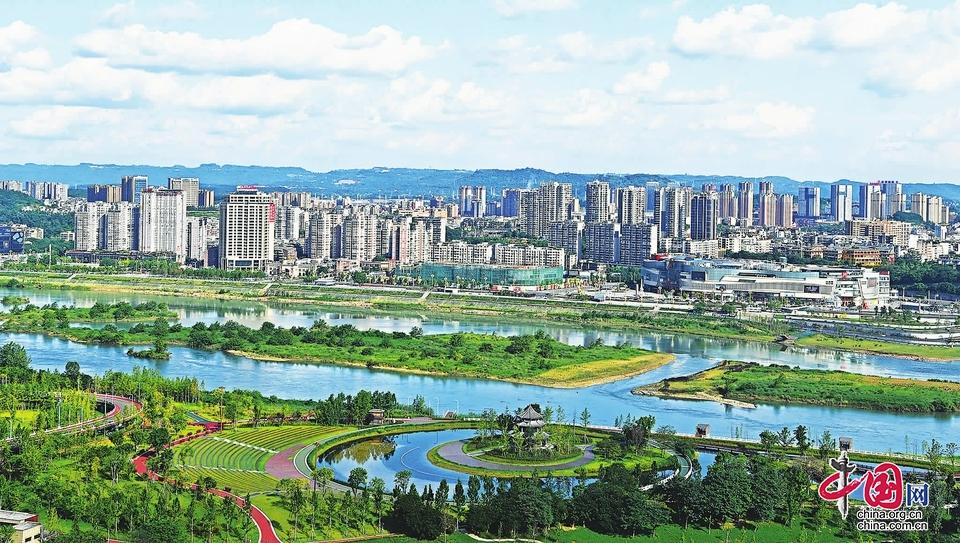 """四川高坪:融入""""双城经济圈"""" 建设""""三个新高地"""""""