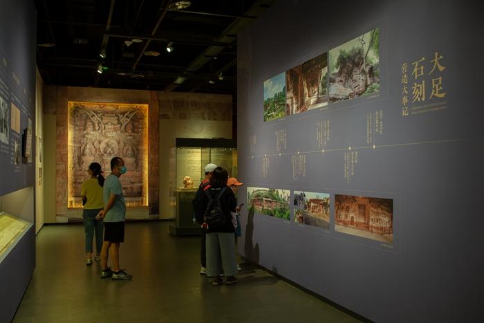 Exhibition of Dazu rock carvings opens at Jinsha Site Museum