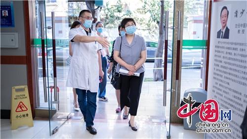 验收通过!四川省老年病医院成为省级首批老年友善医院