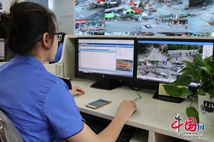 """射洪""""数字化城管""""让城市管理更精细高效"""