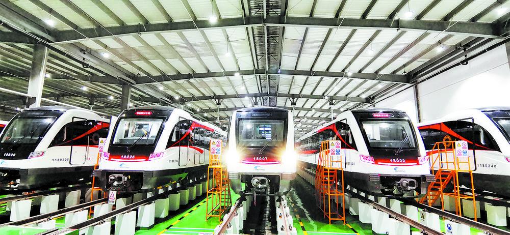 成都地铁开建十五年开通十年 四个关键词看成都轨道交通发展