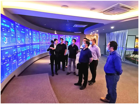 Representatives and entrepreneurs from Longmatan District visit Wuhan to attract investment