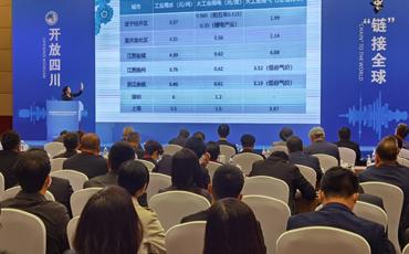 """遂宁经开区在上海向世界500强中外知名企业推荐""""三大""""产业链"""