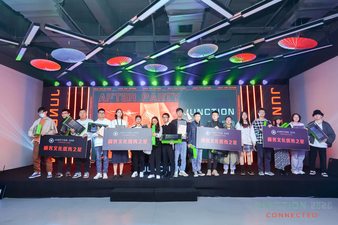 Junction 2020 Connected Global Technology Marathon Competition (China) held in Chengdu