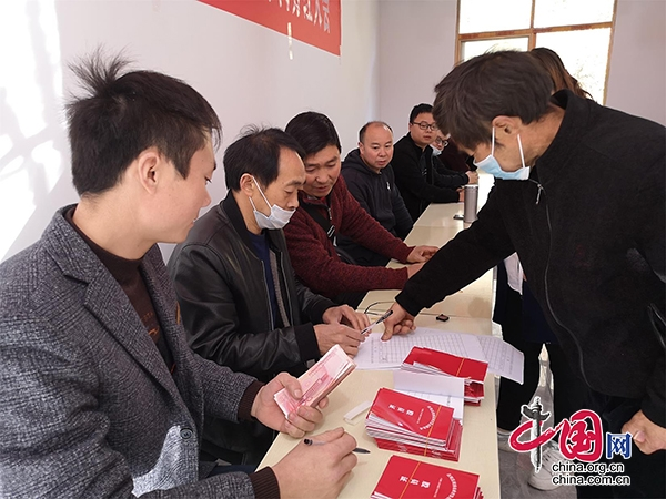 四川青川:残疾人变股东 120名残疾人喜领分红