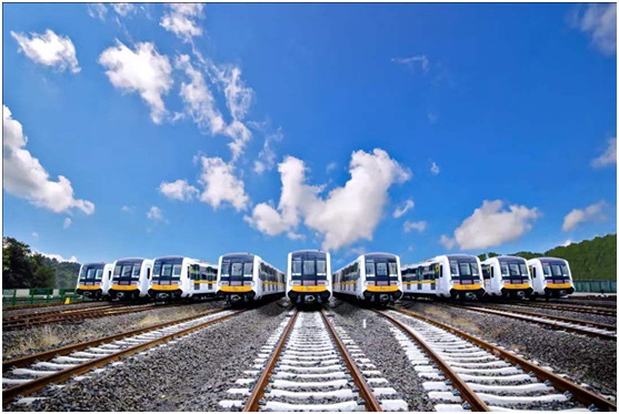 With five lines going into operation simultaneously,Chengdu's metro transit mileage has exceeded 500 km, ranking the fourth in China