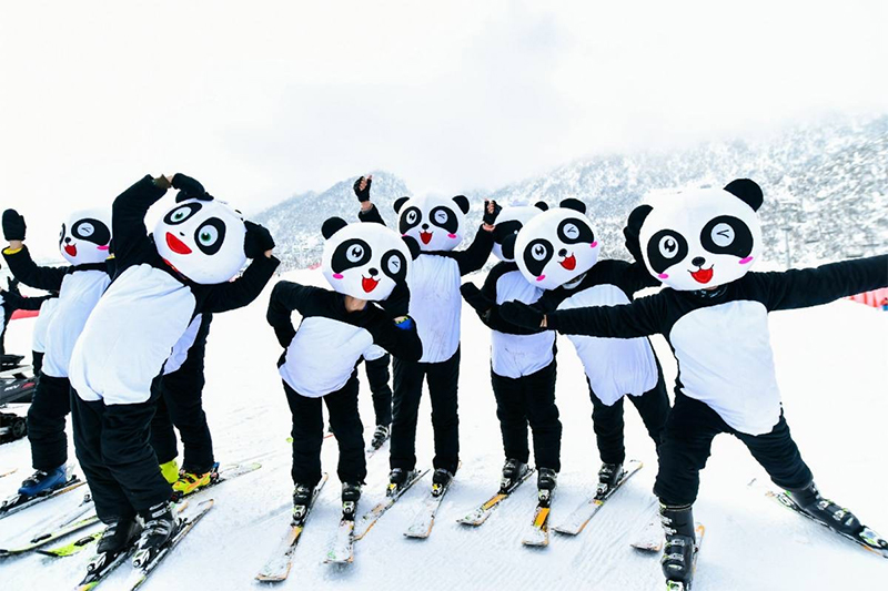 Chengdu 9th Forest Culture Tourism Festival and 21th Southern International Ice and Snow Festival of Xiling Snow Mountain kicks off