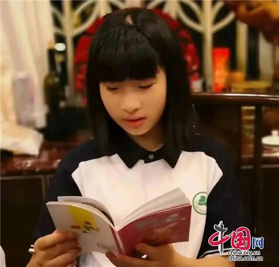 四川少女作家诞生记 15岁创作文学作品约20万字