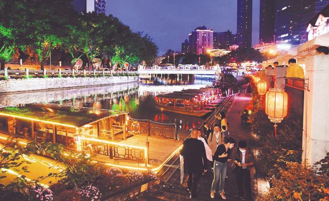 錦城公園將於大運會前基本呈現