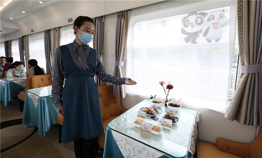 Panda Train starts experimental journey