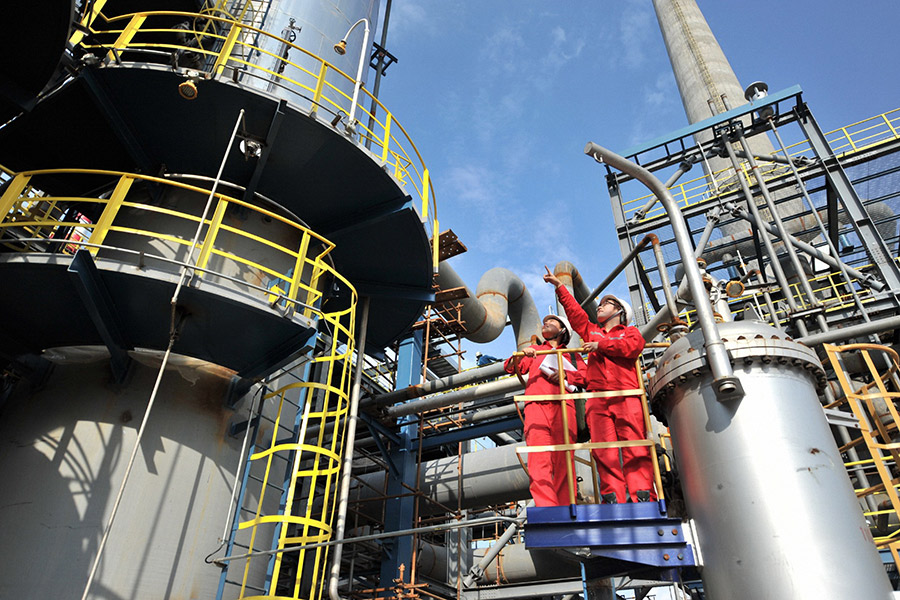 Natural gas project set to help attain carbon neutrality target