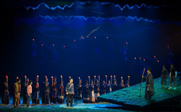 Opera about villagers working hard to shake off poverty in mountainous area staged in Sichuan