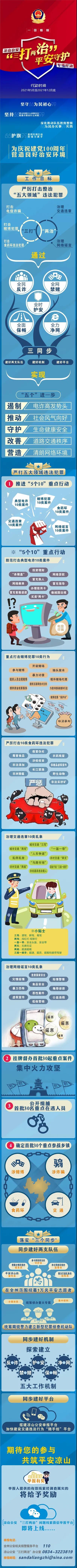 """《向党汇报——凉山公安""""三打两治""""平安守护专项行动纪实》系列报道"""