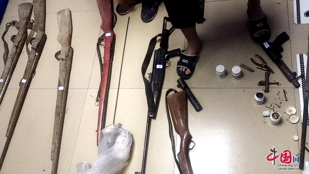 甘洛县:打击整治枪爆违法犯罪成效显著