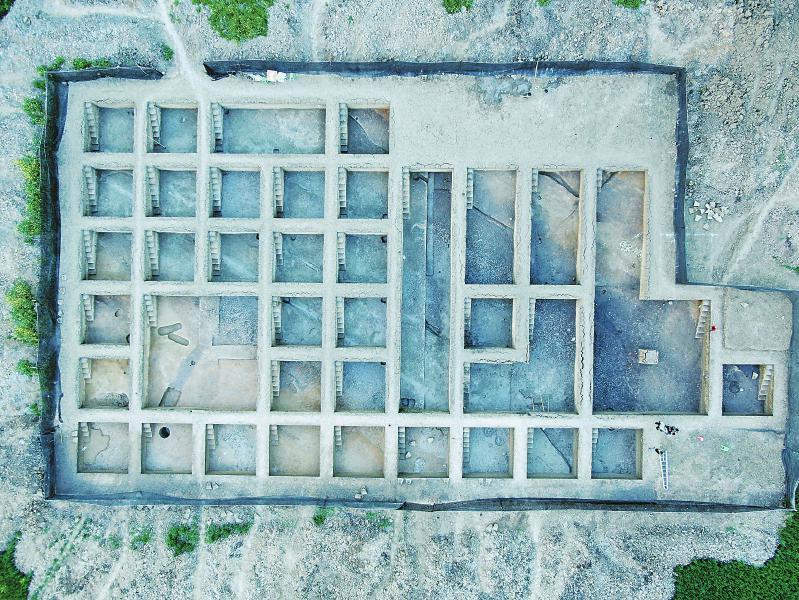宝墩古城遗址