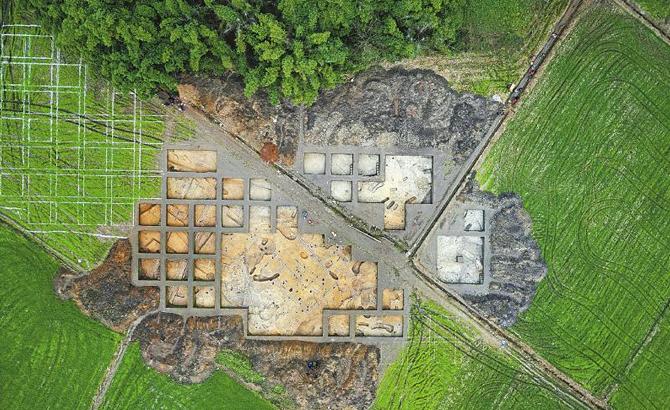 宝墩遗址发现长江上游最早水稻田 4500 年前古蜀先民就种植水稻了