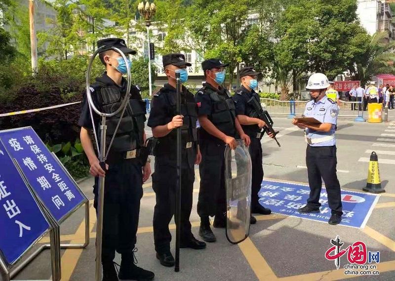 平武县公安局圆满完成2021年高考安保任务