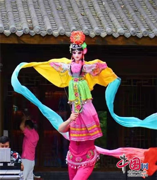 """成都金堂县举行""""文化和自然遗产日""""宣传展示活动"""
