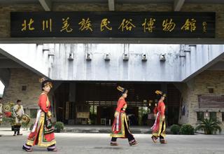 安岳县启明九年义务教育学校蒋佳作、王 灿、罗智莉:走进羌寨  醉美中国