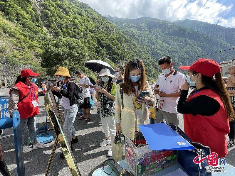 端午期间 理县景区景点受游客青睐 旅游市场一片向好