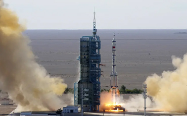 Shenzhou-12 manned spaceship launched in northwest China
