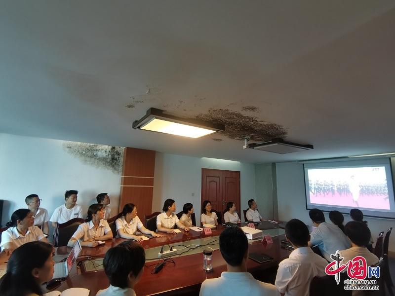 永远跟党走逐梦再扬帆——巴州区妇联组织收看庆祝中国共产党成立100周年大会
