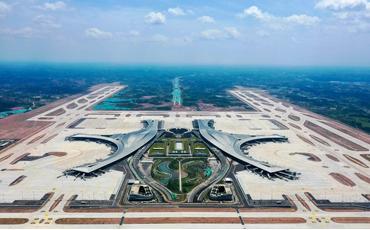 Touring Chengdu Tianfu International Airport in 60 seconds