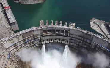 Baihetan hydropower station to help China achieve carbon neutrality goal