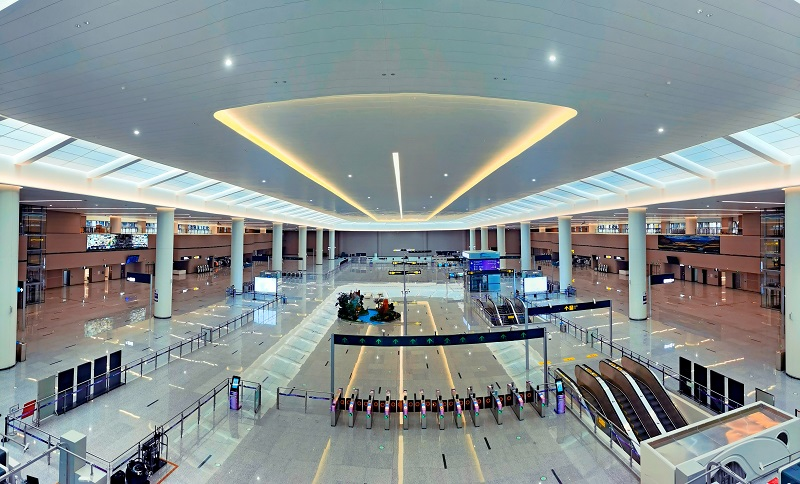 Chengdu Metro Line 18 connects to Tianfu International Airport for seamless transfer of passengers
